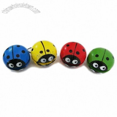 Beetle Wooden Ellipse Yoyo Ball