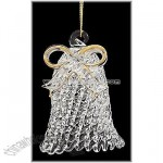 Bell Spun Glass Ornament