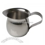 Bell creamer 3 ounce stainless steel
