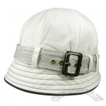 Belted Cloche bucket hat