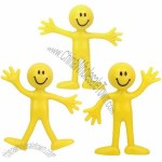 Bendable Smile Men Stress Balls