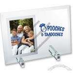 Beveled Glass Mirror Photo Frame