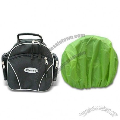 Bicycle Bags with Rain Cover 28 x 14 x 23cm