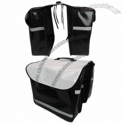 Bicycle Double Pannier Bag 36 x 32 x 12cm