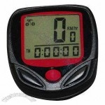 Bicycle Speedometer with Battery, Distance Display, Easy-to-install, Heart Rate Monitor