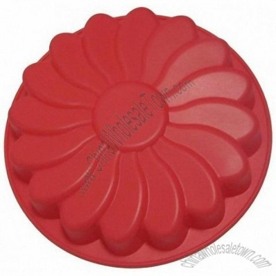 Big Flower Bakeware Silicone Cake Mould Cake Pan Soap Ice Mold Pizza Mold