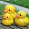 Big Yellow Duck Piggy Bank, Coin Money Bank