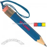 Big pencil with lanyard