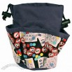 Bingo Cards and Balls 6 Pocket Bags