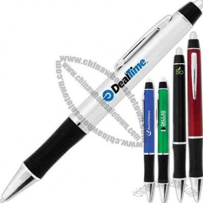 BioGreen Galapagos - Eco-friendly ballpoint pen with black ink and grip section