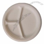 Biodegradable Food Tray, Disposable, Compostable. Made of Compostable Cornc Fiber