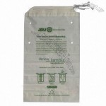 Biodegradable and Compostable Drawstring Plastic Bag