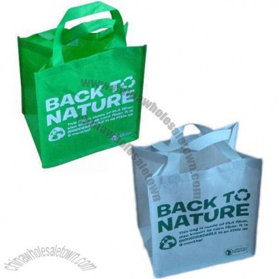 Biodegradable and Compostable Nonwoven Bag