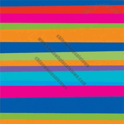 Birthday Stripes Beverage Napkins
