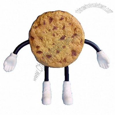 Biscuit Man Figure Stress Ball