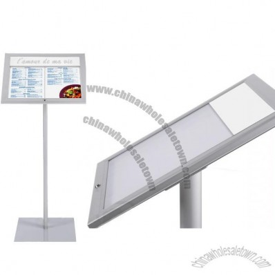 Bistro External Menu Display Stand