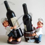Bistrot Chef Shaped Wine Bottle Holder