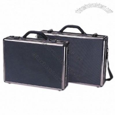 Black Aluminum Briefcase