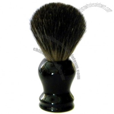 Black Badger Brush with Resin Handle