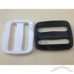 Black Color Economy Contoured Side Release Plastic Buckles