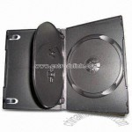 Black DVD Cases for 3CDs