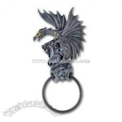 Black Dragon Door Knocker