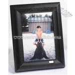 Black Illuminated/Voice Recording Photo Frame