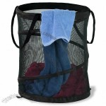 Black Mesh Pop Open Hamper