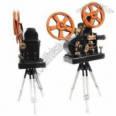 Black Movie Camera, 1:4 Scale