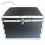 Black PVC File Case with Silvery Frame