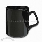 Black Porcelain Coffee Mug