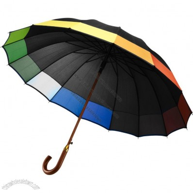 Black Rainbow Umbrella