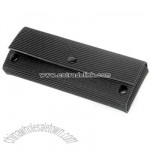 Black Recycled Rubber Pencil Case