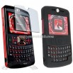 Black Skin Case and Screen Protector for Motorola Q 9m 9c