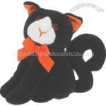 Black cat - Halloween stuffed 6