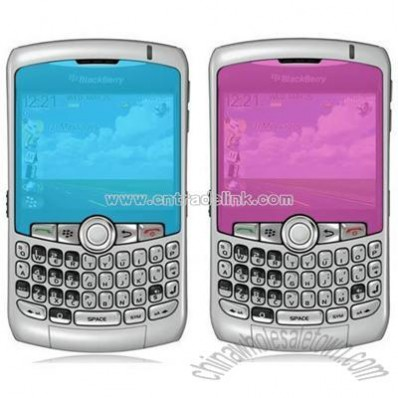 BlackBerry 8300/ 8330 Stylish Colored Screen Protector
