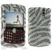 Blackberry 8310 8320 8330 Rhinestone Zebra Case