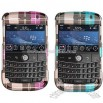 Blackberry BOLD 9000 Plaid Design Protector Case