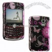 Blackberry Curve Pink Butterfly Design Case