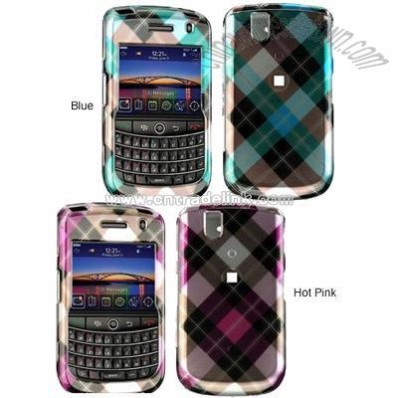 Blackberry Tour 9630 Plaid Case