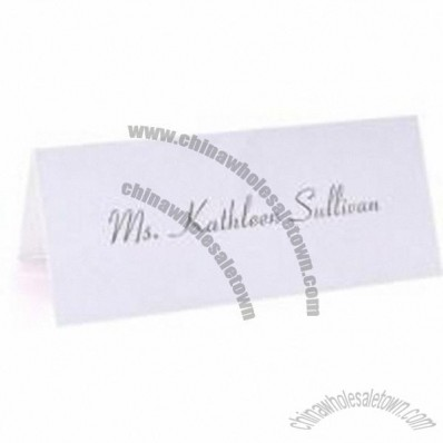 Blank Place Cards