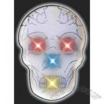 Blank color changing skull flashing pin