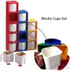 Blocks Cups Set