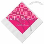 Blocks of Pink - Baby Shower Napkins