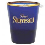 Blue 1.5 oz. shot glass/votive