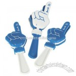 Blue And White #1 Hand Clappers