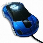 Blue Car Optical Mouse