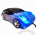 Blue Car USB Optical Mice