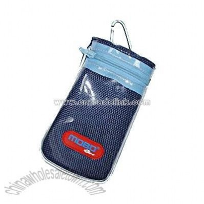 Blue Fashionable Mobile Phone Pouch