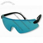 Blue Lens Safety Glasses